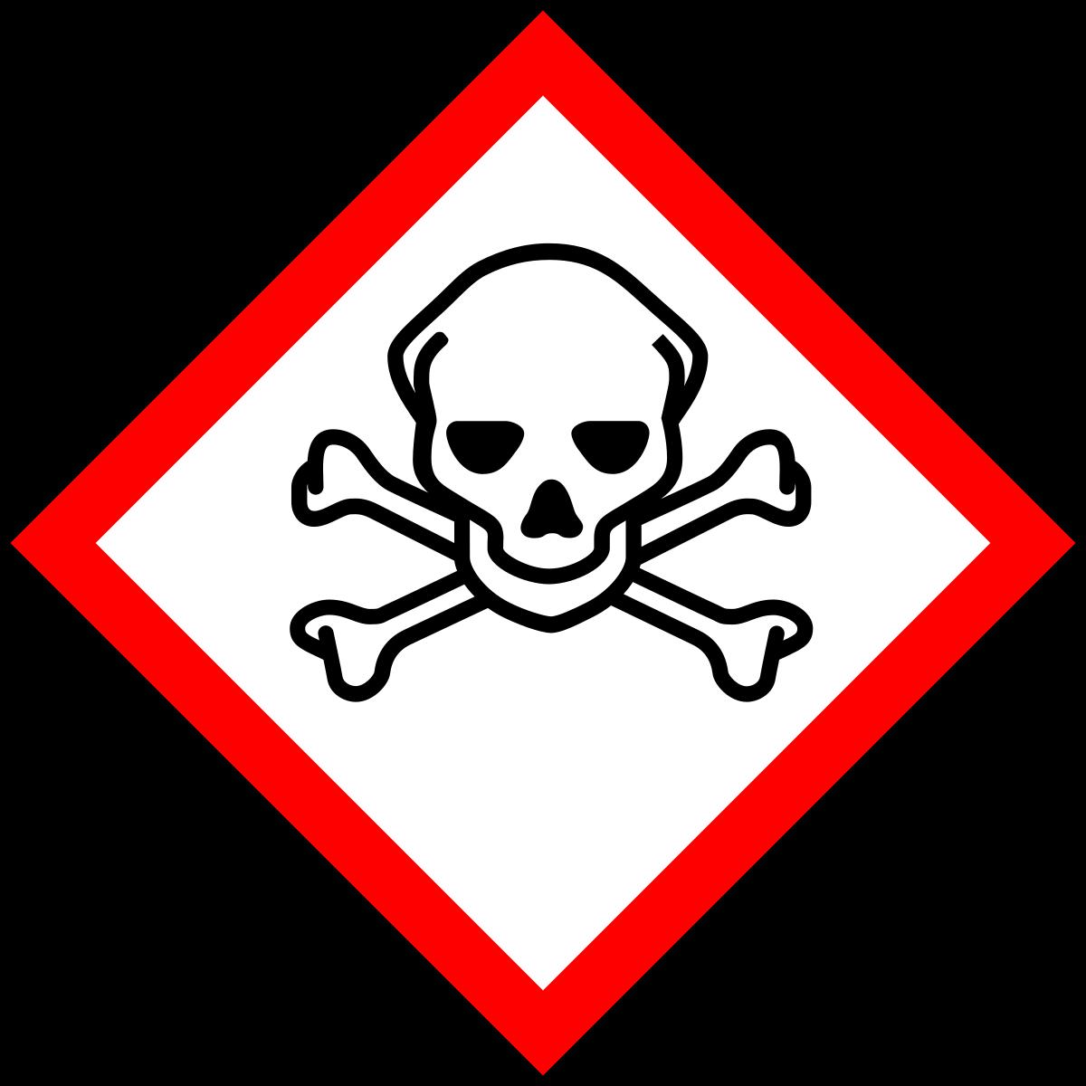 Pour les produits toxiques