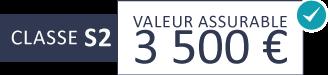 Classe S2 : 3 500 €